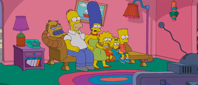 Fox Releases Couch Gag for Simpsons/Futurama Crossover