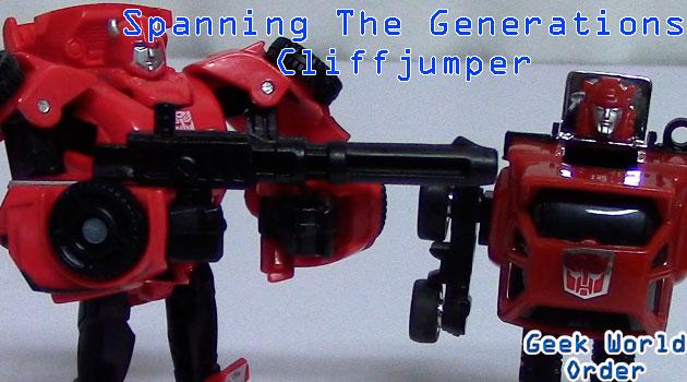 Spanning The Generations: Cliffjumper