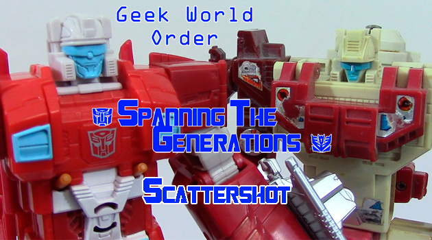 Spanning The Generations: Scattershot