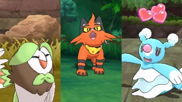 Pokemon Sun and Moon Starter Middle Evolutions Announced