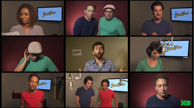 New Duck Tales Cast Sings Original Series Theme