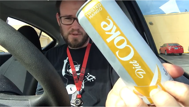 Twisted Mango Diet Coke Review