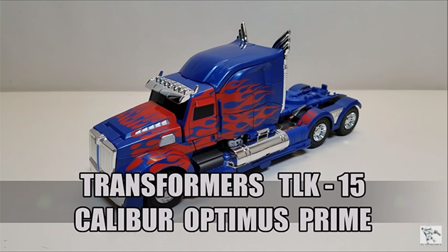 That's Just Prime: TLK-15 CALIBUR Optimus Prime
