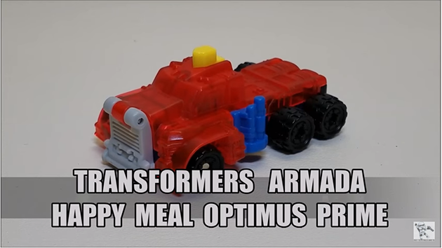 That's Just Prime: Armada Happy Meal Optimus Prime Review POTP Challenge