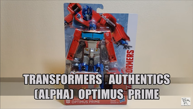 That's Just Prime: Authentics Alpha Optimus Prime