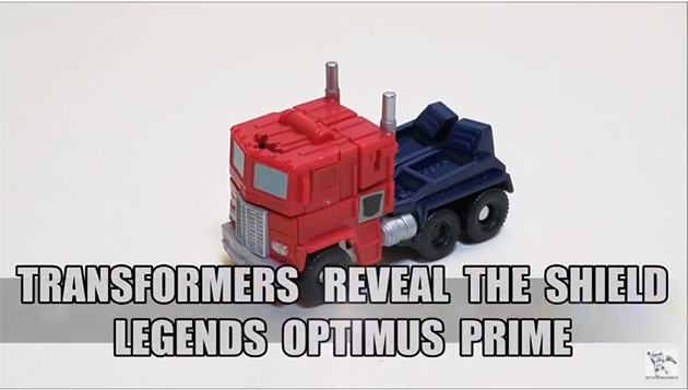 That's Just Prime: Reveal the Shield Legends Optimus Prime