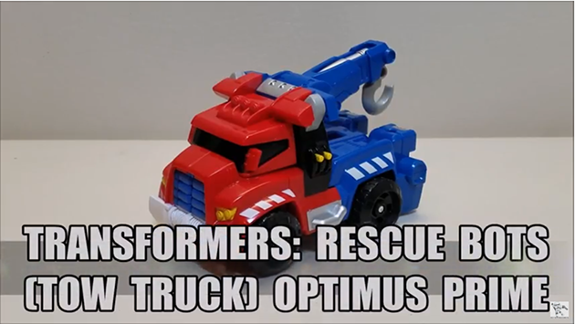 That's Just Prime: Rescue Bots (Tow Truck) Optimus Prime