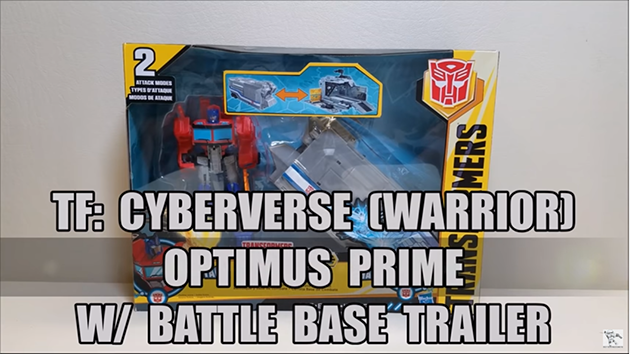 That's Just Prime: Cyberverse Optimus Prime with Battle Base Trailer