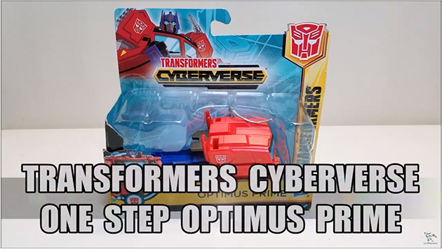 That's Just Prime: Cyberverse One Step Optimus Prime