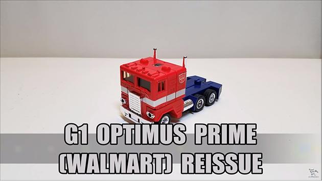 That's Just Prime: G1 Walmart Reissue Optimus Prime