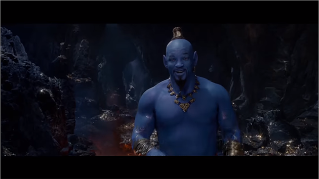 Aladdin Trailer gives us first look at Will Smith as Genie