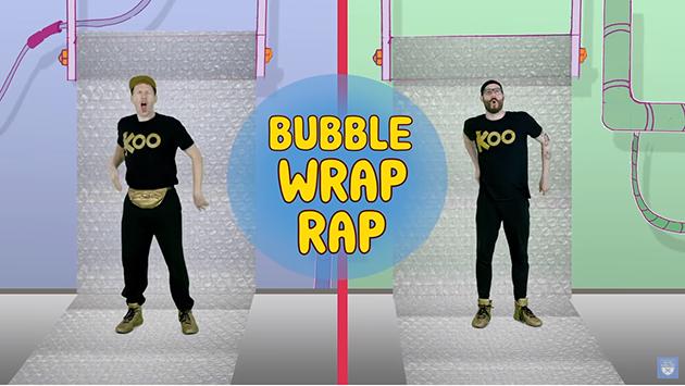 Koo Koo Kanga Roo - Bubble Wrap Rap