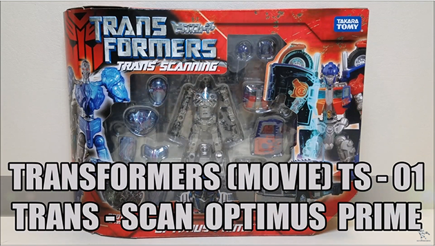 That's Just Prime: TS-01 Trans Scanning Optimus Prime