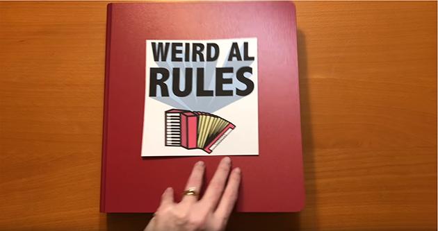 Megathruster - Weird Al Rules