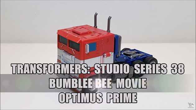 That's Just Prime: Transformers Studio Series 38 Bumblebee Movie Optimus Prime