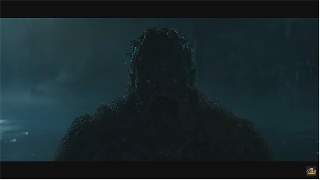 Trailer for DC Universe Swamp Thing