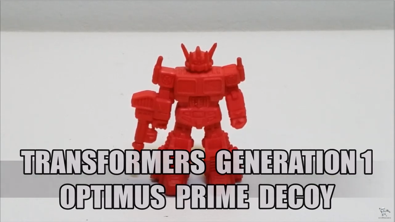 That's Just Prime: G1 Optimus Prime Decoy