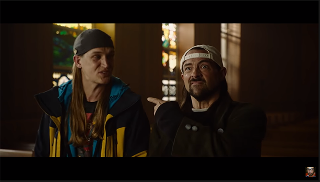 Jay and Silent Bob Reboot Trailer SDCC