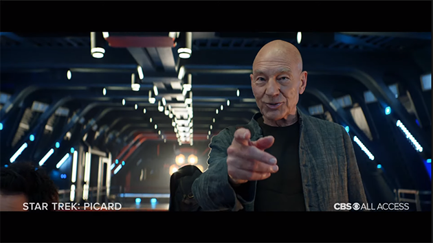 Star Trek Picard Trailer from SDCC