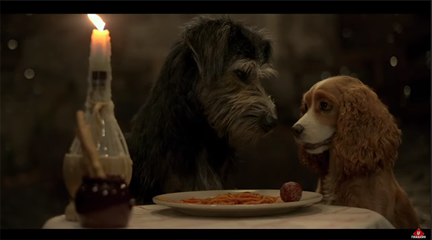 Lady and the Tramp Live Action Trailer from D23