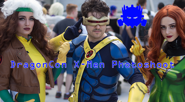 DragonCon X-Men Photoshoot