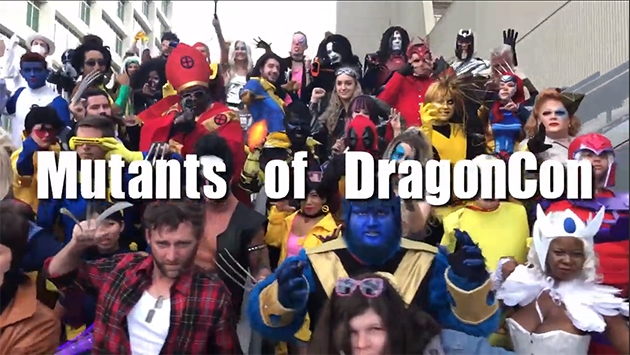 Mutants of DragonCon Cosplay Music Video