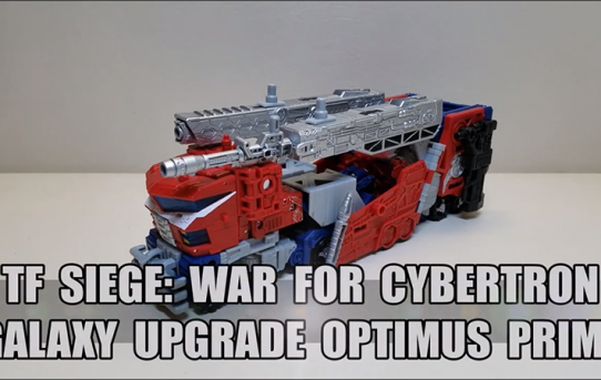 That's Just Prime - Siege: War for Cybertron Galaxy Upgrade Optimus Prime