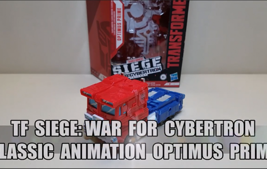That's Just Prime: Siege War for Cybertron Classic Animation Optimus Prime