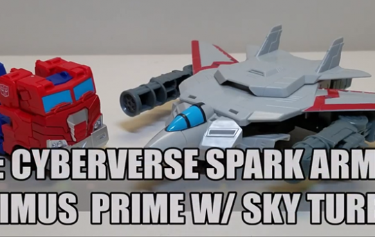 That's Just Prime - Cyberverse Spark Armor Optimus Prime w/ Sky Turbine