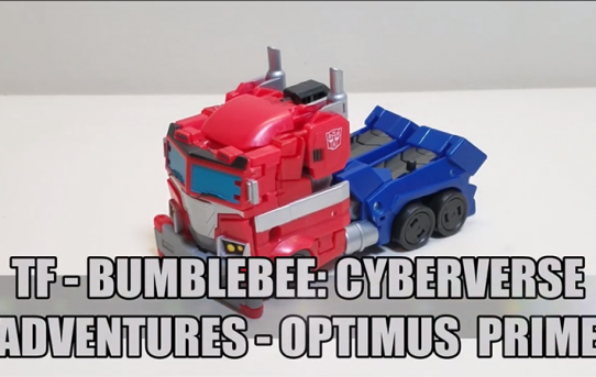 That's Just Prime: Transformers Bumblebee: Cyberverse Adventures Optimus Prime