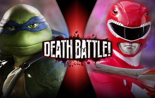 Leonardo VS Red Ranger Jason Death Battle