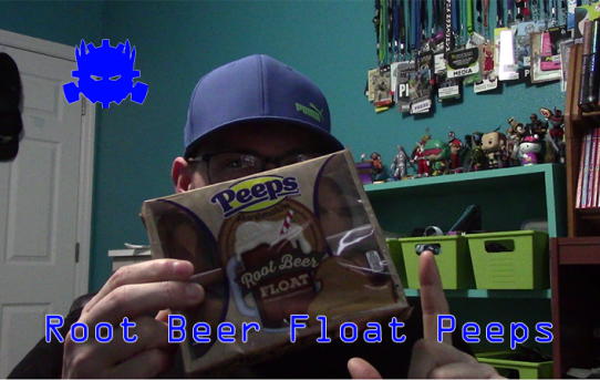 Randy Tries Root Beer Float Peeps