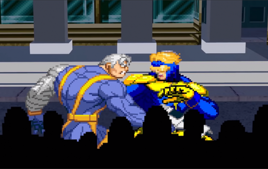 Cable vs Booster Gold Death Battle