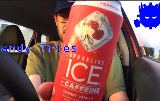 Randy Tries Sparkling Ice Cherry Vanilla